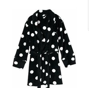SOOoo Soft Victoria's Secret Black /white Poka Dot